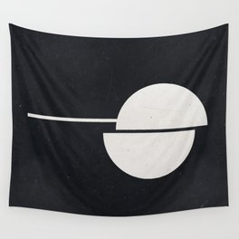#007 Black Wall Tapestry