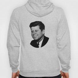 President John F. Kennedy Portrait Hoody