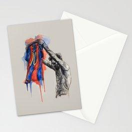 Messi celebration Stationery Cards