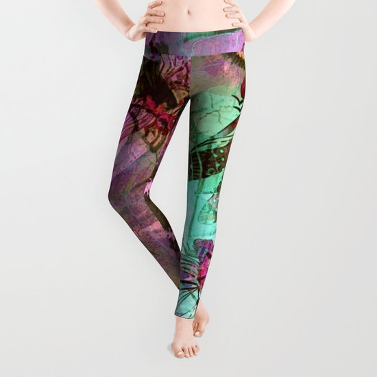 Dragonflies in a Dream Leggings