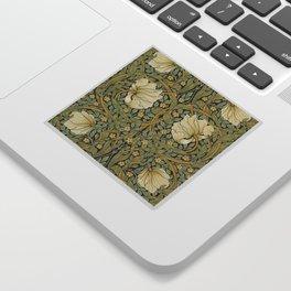 William Morris Pimpernel Art Nouveau Floral Pattern Sticker