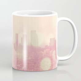 City of Dreamers. Los Angeles skyline photograph Coffee Mug