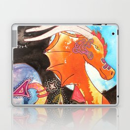 Fantastic animal - My new friend Drago - dragon - by LiliFlore Laptop & iPad Skin