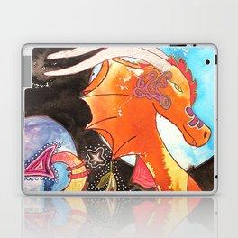 Fantastic animal - My new friend Drago - dragon - by LiliFlore Laptop & iPad Skin