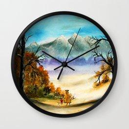 Calvin Art Hobbes Wall Clock