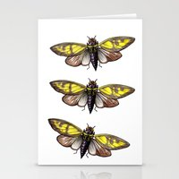 insect Stationery Cards featuring Insect by Freja Friborg