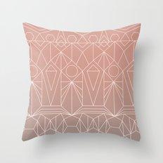 My Favorite Pattern 10 Y Throw Pillow
