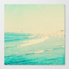beach sunday II Canvas Print