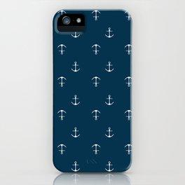 Anchor Print iPhone Case