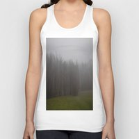 fog Tank Tops featuring Fog by Alyson Cornman Photography