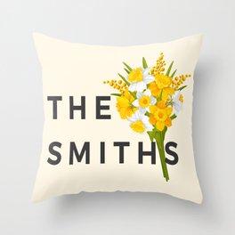 SMITHS Throw Pillow