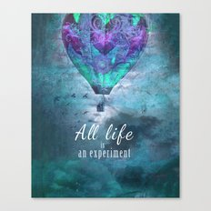 All life... Canvas Print