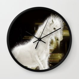 Carousel magic Wall Clock