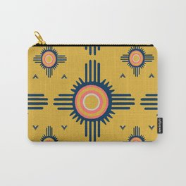 Zuni Sun Goldenrod Carry-All Pouch