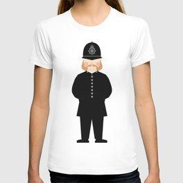 London Uniforms and Moustaches T-shirt