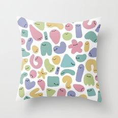 Germs Throw Pillow