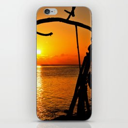 Sunrise The Maldives iPhone Skin