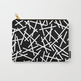 Kerplunk Black and White Carry-All Pouch