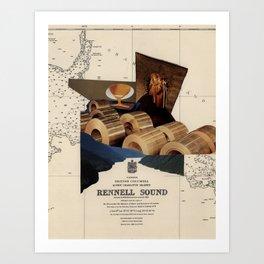 Rennell Sound Art Print
