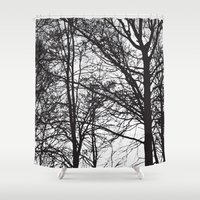 stark Shower Curtains featuring Stark by MLauxDesign