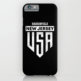 Haddonfield New Jersey iPhone Case