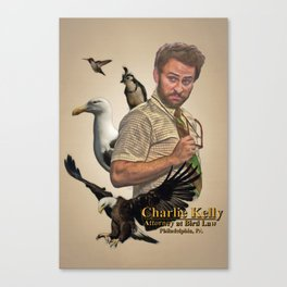 Charlie Kelly: Attorney at Bird Law - Always Sunny - Fan Art Canvas Print