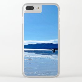 The Salt Flats, Bolivia Clear iPhone Case