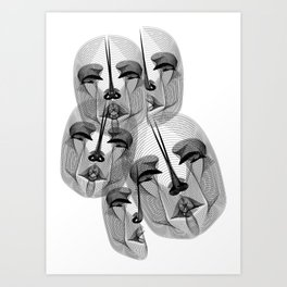 Voices of the River Styx Art Print