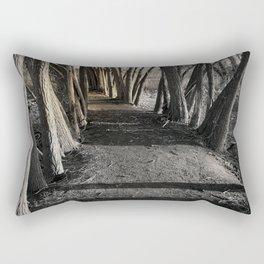 Path of Shadows Rectangular Pillow
