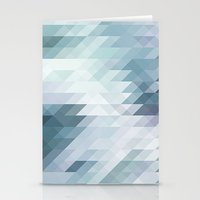 polygon Stationery Cards featuring Polygon by Boho déco