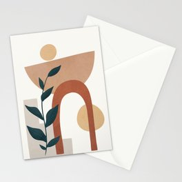 Shapes and Branches 05 Stationery Cards