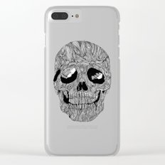Skull No.1 Clear iPhone Case