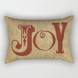 JOY + BURLAP Rectangular Pillow