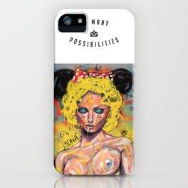 M D N A iPhone Case