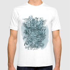 Idea Of The Truth SMALL White Mens Fitted Tee