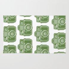 I Still Shoot Film Holga Logo - Green Rug