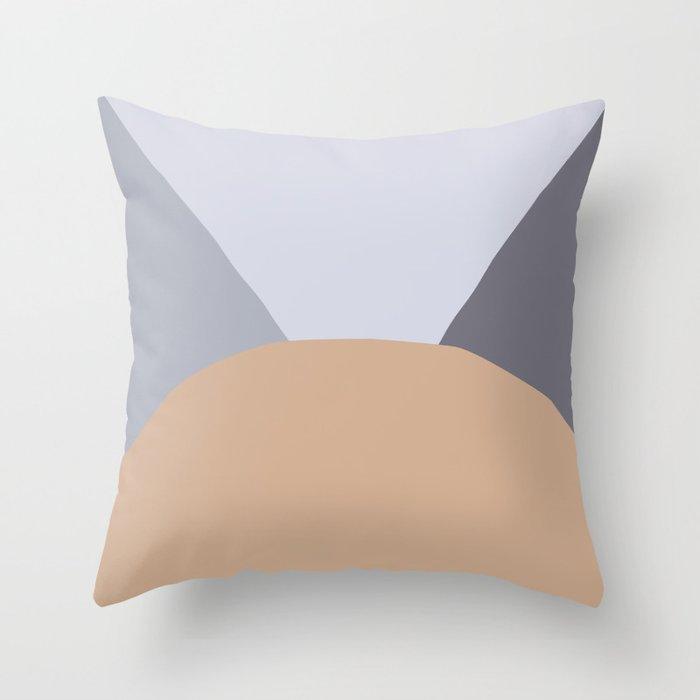 Deyoung Hazelnut Throw Pillow