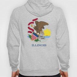 State flag of Illinois Hoody