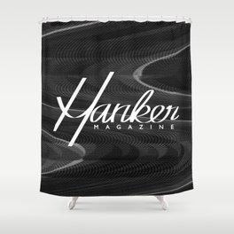 Hanker Magazine – Issue Five w/ Logo Shower Curtain