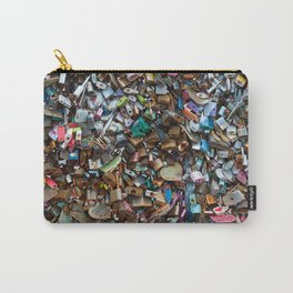 Wall of Love Locks Carry-All Pouch