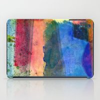 water color iPad Cases featuring water color by Pao Designs
