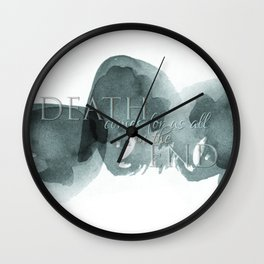 For Us All Wall Clock