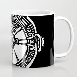 Hunab Ku.  Mayan symbol. Hand Drawn detailed pattern. Coffee Mug