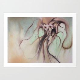 Dark fantasy/horror/gothic artwork by Gareth Walsh Art Print