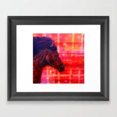 War Horse 2 Framed Art Print
