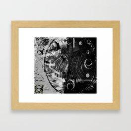 Chrono Stepper Framed Art Print