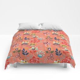 Pretty Floral Comforters