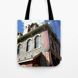 """On Greene Street - The """"Main Drag"""" of Silverton, No. 2 of 3 Tote Bag"""