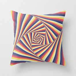 TwistaToo Throw Pillow