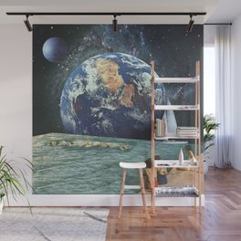 Earthly Currents Wall Mural